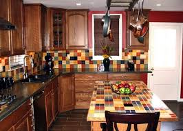 Backsplash Tile For Kitchens Cheap by Cheap Backsplash Tile Creamy Wall Paint Color Rattan Dining Chairs