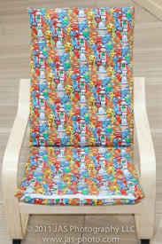 Ikea Poang Chair Covers Make A Brand New Slipcover For Your Ikea Poang Chair Cover Here U0027s