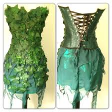 halloween corsets cheap poison ivy 3 pc corset costume set batman by darkponydesigns