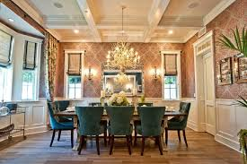 sweet home interior dining room with wallpaper ideas decoraci on interior