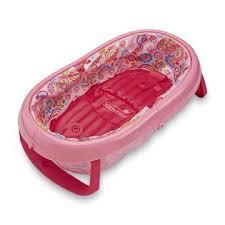 summer infants easystore comfort tub bathtub floral