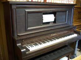 player piano roll cabinet player piano shop used pianos