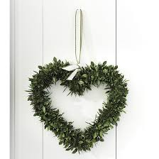 heart wreath faux boxwood heart wreath ballard designs
