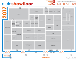 auto use floor plan guide 2017 north american international auto show in detroit
