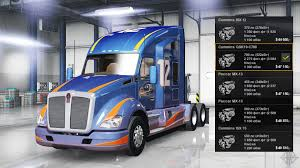 paccar trucks cummins qsk19 c700 for american truck simulator
