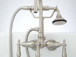 Polished Nickel Kitchen Faucets by Kohler K765204 Artifacts Bridge Kitchen Faucet With Sidespray