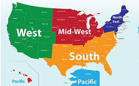 Hayward And Company U2013 Nh by Us Regions West Midwest South And Northeast Us Midwest Regional