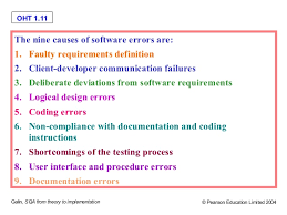 Challenge Causes Software Quality Challenge