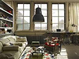 old painter u0027s studio turned into tiny vintage industrial loft in