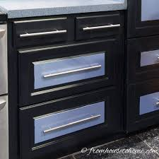 how to turn a base cabinet into a kitchen island how to convert base cabinet shelves to drawers