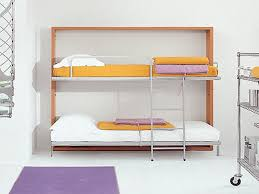 Wood Futon Bunk Bed Plans by Slim Design Murphy Bed Bunk Beds Flexible Furniture Pinterest