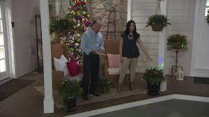 bethlehem lights prelit indoor outdoor mixed cedar hanging basket