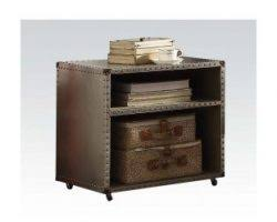 brancaster retro brown queen bed w storage shop for affordable