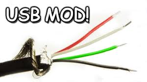 usb cord modding extending splicing youtube
