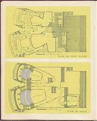 plan of first floor plan of halls sydney opera house gold book