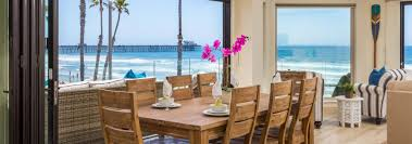 beachfront only vacation rentals california beach house rentals