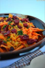 cuisiner des figues salade de lentilles corail et cranberries sauce à l orange la