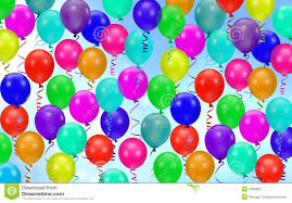 party balloons colorful party balloons background stock photo image of