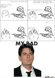 Charlie Sheen Memes - charlie sheen true story i was there by samiem meme center