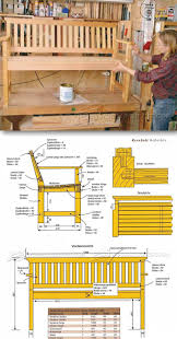 Outdoor Wooden Chairs Plans Outdoor Wood Bench Plans Outdoor Furniture Plans And Projects