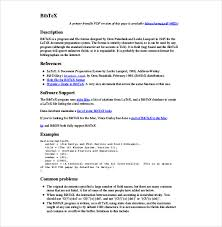 16 technical report templates free sle exle format