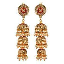 punjabi jhumka earrings fancy jhumki and designer jhumka earrings manufacturer