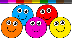 learn colors with these fun smiley face coloring page u003d youtube