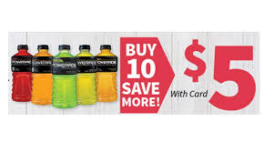 powerade 32 oz bottles only 0 50 at food city today only
