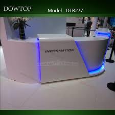 Lighted Desk Modern Design Lighted White Reception Desk Buy White Reception