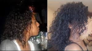 3a Curly Hair Extensions by My Natural Hair Journey Asian African 3b Curly Hair Day Youtube