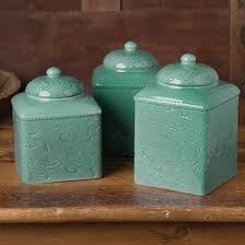 western kitchen canisters western elegance canister set