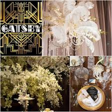 themes and ideas in the great gatsby great gatsby wedding ideas great gatsby decorations the great