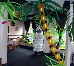 themed decorations jungle theme party decoration ideas