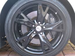 nissan 370z oem wheels i think i should have waited to paint my wheels nissan 370z forum
