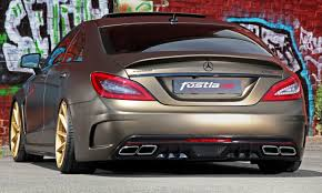fostla de foliation designs a wild mercedes benz cls in metallic
