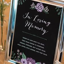 wedding memorial sign modern wedding memorial sign 76thandnewbury