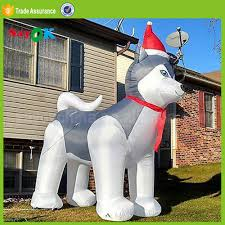 Holiday Blow Up Decorations Inflatable Husky Inflatable Husky Suppliers And Manufacturers At