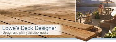 deck lowes deck planner menards deck estimator home depot deck designer planner