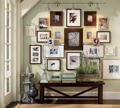 ideas for displaying pictures on walls a nice idea for displaying all those photos liking a mix of