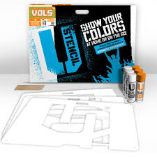 Tennessee Vols Home Decor U Stencil Tennessee Vols Lawn Stencil Kit Tenoos 002 The Home Depot