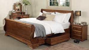 King Size Sleigh Bed King Size Sleigh Bed Drawer Original And Special For