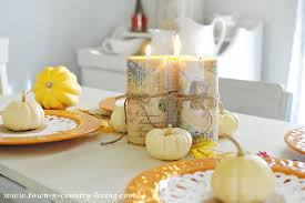3 simple thanksgiving centerpieces town country living