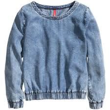 denim blouses denim blouses polyvore