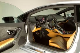 2015 lamborghini huracan first look yellow and black interior