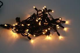 light strings wl gold 230v 10m black cable 100l 2700k warm