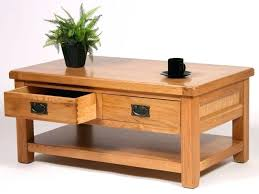 Wood Coffee Tables With Storage Wood Coffee Table With Storage Hermelin Me