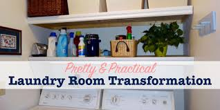 room transformation pretty practical laundry room transformation single girl s diy