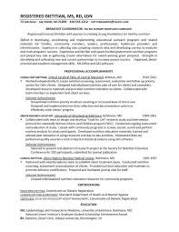 dietitian cover letter career objective for an accounting resume ap language and