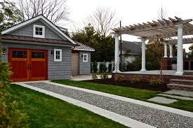 exterior design driveway design ideas with garage door also grass