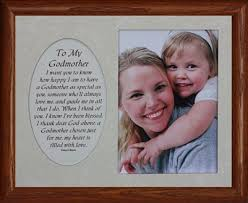 baptism gifts from godmother 5x7 hinged to my godmother poem picture frame gift for godparent